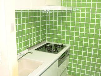 キッチンリフォーム L型からI型に取り替えて使いやすいキッチン