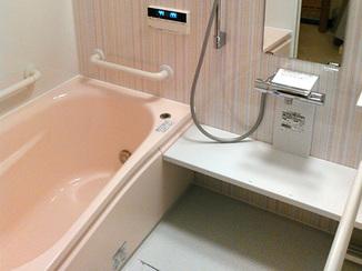 バスルームリフォーム 安全に温かく。安心して入れるバスルームへ