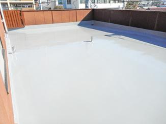 外壁・屋根リフォーム 雨漏り対策・美観どちらもしっかり仕上げの屋上防水