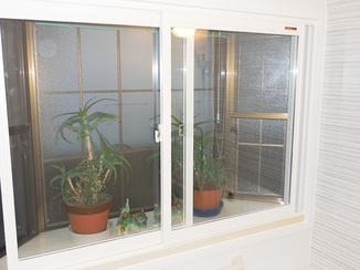 小工事 お風呂が温かくなり防音効果も生む内窓
