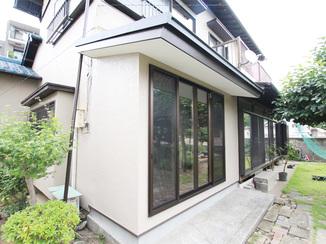 増改築リフォーム 趣味のお部屋を広く快適に、断熱窓も施した増改築リフォーム