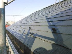 外壁・屋根リフォーム遮熱塗料で夏の暑さを抑えた屋根