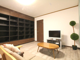 内装リフォームダイニングを明るくし、収納量も増えた内装リフォーム