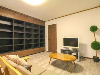 内装リフォーム 部屋全体が明るくなり、収納量も増えたLDKリフォーム