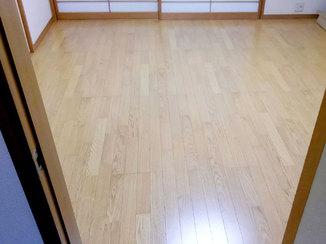 内装リフォーム 畳からフローリングに変えて、掃除しやすくなったお部屋