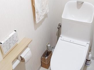 トイレリフォーム まるで新築のような清潔感のあるトイレ